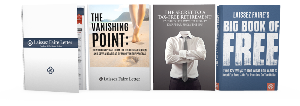 How to Vanish From The IRS